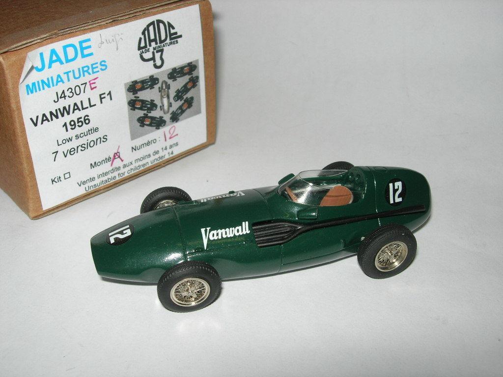 Jade Miniature 1 43 Built 4307E Vanwall  12 F.1 Belgium GP 1956 Trintignant NEW