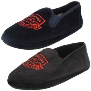 Textil-Para-Hombre-Coronation-Street-newton-amp-ridley-Pantuflas-zapato-2-COLORES