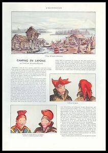 Document-Anc-CAMPING-EN-LAPONIE-LAPONS-COSTUMES-TRADITIONNELS-1938