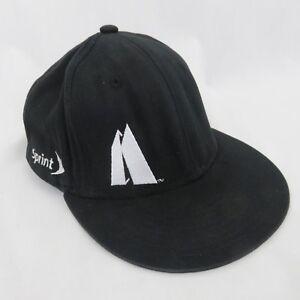 0d935e05259 Kirkwood Ski Resort Black Logo Flat Billed Cap Hat Snowboard ...