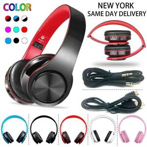 Wireless Bluetooth Headphones Stereo Foldable Headsets Mic For Iphone Samsung B3 Ebay