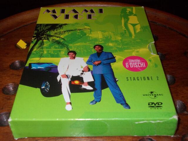 Miami Vice - Stagione 2 02 (6 Dvd) Universal   Dvd ..... PrimoPrezzo