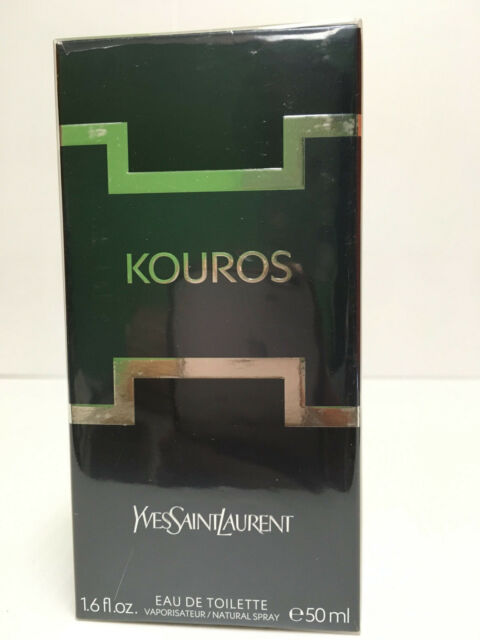 KOUROS by Yves Saint Laurent 1.6 OZ 50 ML EDT Spray NEW IN SEALED BOX