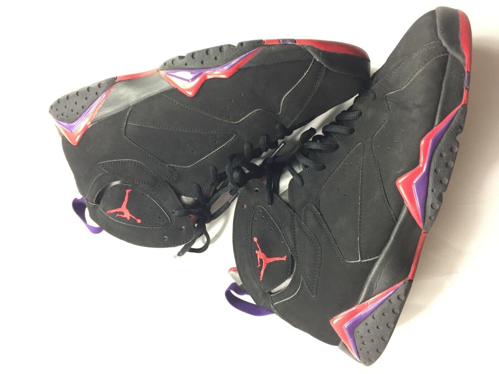 2012 Nike Air Jordan Retro VII 7 Raptor Men's 304775-018 Sz 12 Mens