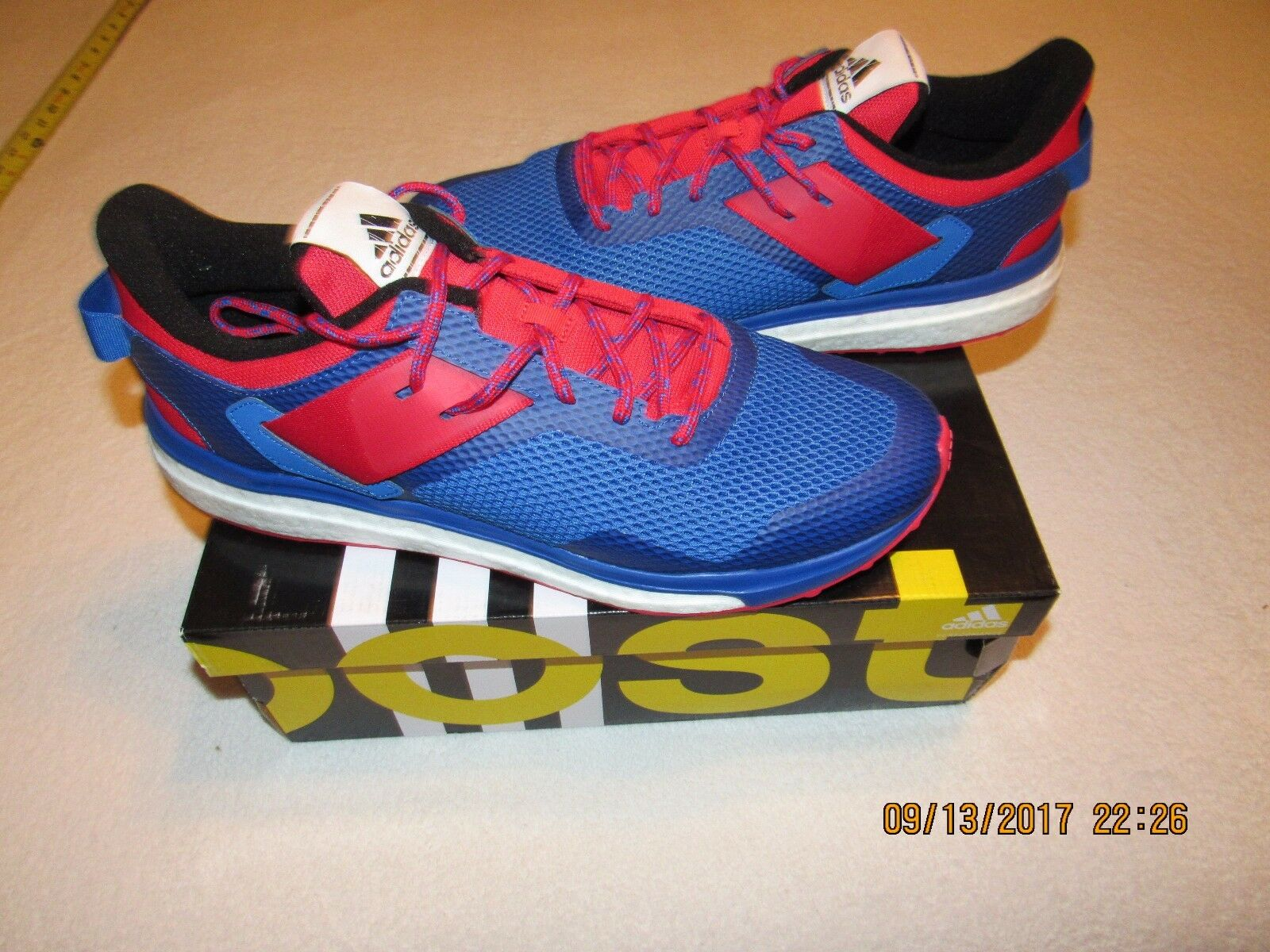 NIB MENS ADIDAS RESPONSE 3 M BOOST RUNNING SHOES SIZE 13 AQ2497 NEW IN BOX Wild casual shoes