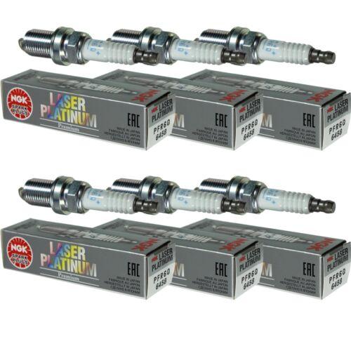 6X NGK Laser Platinum Premium Zündkerze 6458 Typ PFR6Q Zünd Kerze