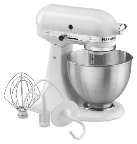 KitchenAid® Classic™ Series 4.5 Quart Tilt-Head Stand Mixer K45SS