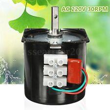 AC 220V 30RPM A60KTYZ Gear-Box Electric Synchronous Motor Speed Reducing Torque
