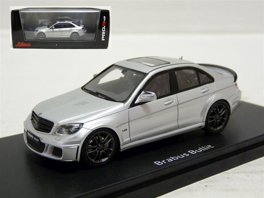 Schuco 450881700 1 43 2011 Brabus Bullit Mercedes-Benz Coche Modelo de Resina