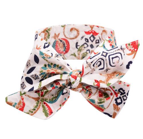 NEWCotton Girls Kids Baby Bow Hairband Headband Turban Knot Head Wrap Collection