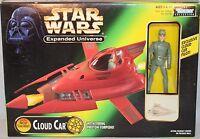 1997 Hasbro Star Wars Expanded Universe Bespin Cloud Car W/pilot Figure -