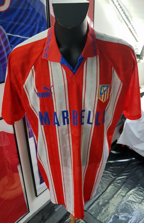 Maglia Maglia Maglia Camiseta Maglia Atletico 1995 1996 Marbella Madrid