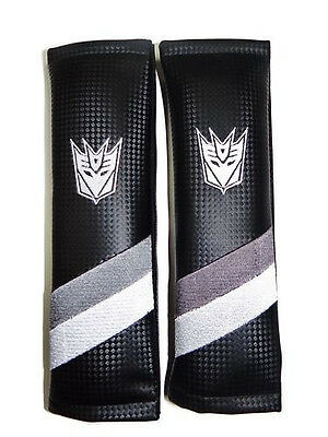 Transformers Decepticon Embroidered Seat Belt Shoulder Pads Dodge Ram Dart Viper