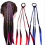 Fashion-Hair-Rope-Ribbon-Hair-Tie-Kids-Girls-Elastic-Rubber-Hair-Bands-With-Wig thumbnail 4