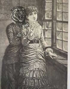 Original-antique-surrealist-collage-La-Sposa-wedding-Serrano-dress-Tolli-Miri