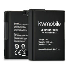 kwmobile Digitalkameraakku für Nikon D3300 D5300 Lithium-Ionen Akku EN-EL14