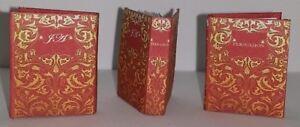 SENSE AND SENSIBILITY by JANE AUSTEN Miniature Book Dollhouse 1:12 Scale Book