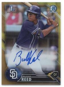 2016-Bowman-Draft-Chrome-Draft-Pick-Autographs-Refractors-Gold-Buddy-Reed-50