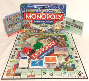 Monopoly-Birmingham-Edition-Board-Game-2014-Hasbro-100-Complete