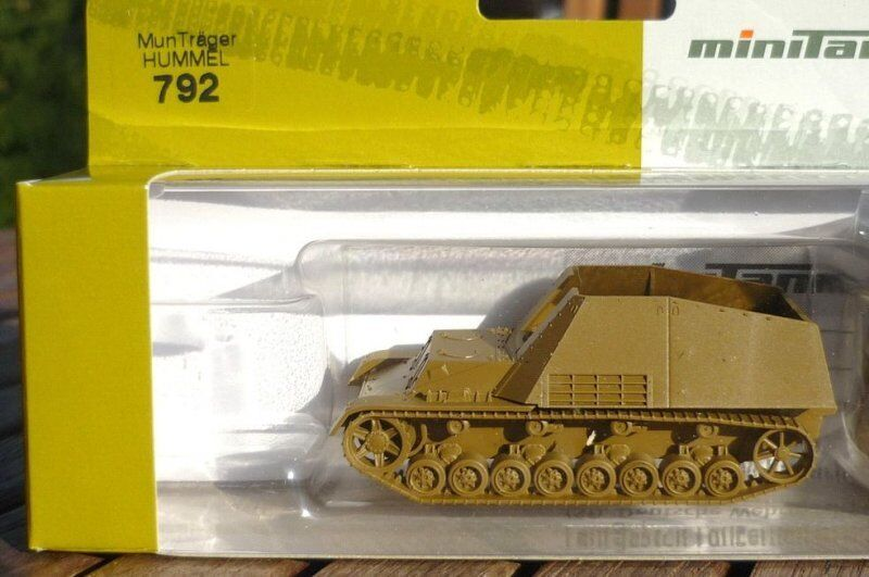 Roco Herpa 792 741002 Ammunition Carrier   Hummel   Ii.wk. Armed Forces, 1 87
