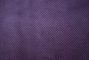 Consciencieux Perforé Daim Veau Cuir Violet Barkers Leathercraft Hide & Skins H267m-afficher Le Titre D'origine Un Enrichit Et Nutritif Pour Le Foie Et Les Rein