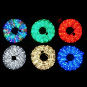20m led rope light 6 colours low wattage ultra bright memory image is loading 20m led rope light 6 colours low wattage mozeypictures Images