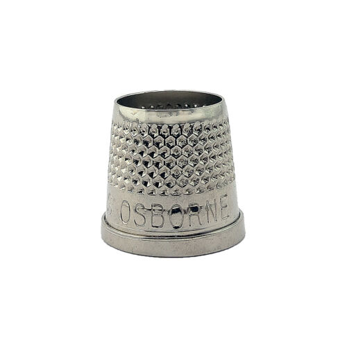 "C.S 21//32/"" Osborne Open End Thimble 510-9 Sewing /& Leather Work"