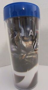 NEW-MARVEL-Captain-America-Winter-Soldier-AVENGERS-16-oz-Plastic-Travel-Mug-Cup