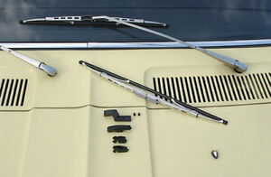 Mercedes-Benz-MB-DB-W107-SL-SLC-W-R-C-107-Scheibenwischer-silber-NEU