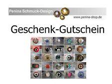Geschenkgutschein in Höhe von 25,00€ einlösbar bei penina-shop.de
