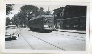 MONTREAL-amp-SOUTHERN-COUNTIES-Trolley-Saint-ST-LAMBERT-Quebec-QC-Photograph