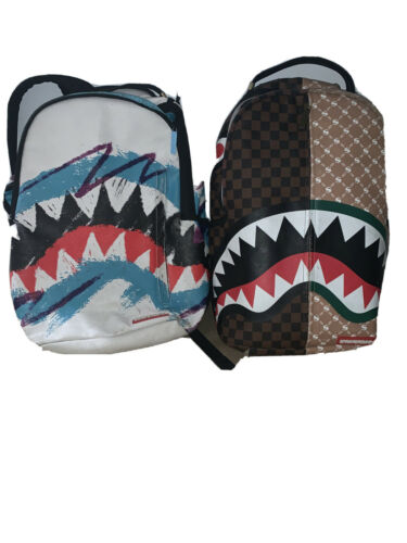 Two Sprayground Backpacks Good Condition