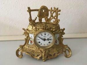 Collection D'Art - Barok Tischuhr mit mechanischem 1/2 Schlagwerk 8-Tage - Salzburg, Österreich - Collection D'Art - Barok Tischuhr mit mechanischem 1/2 Schlagwerk 8-Tage - Salzburg, Österreich