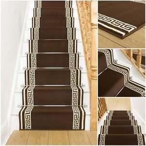 schl ssel braun treppen teppich l ufer f r schmale. Black Bedroom Furniture Sets. Home Design Ideas
