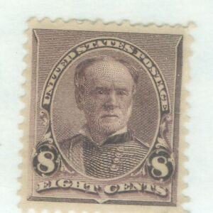 US-225 WILLIAM SHERMAN 8c ISSUED 1890-93  MH