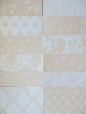 12 x Papermania 6x6 Oyster Blush 1 Papers For Cardmaking & Scrapbooking