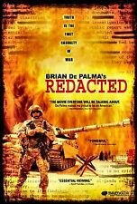 NEW DVD // BRIAN DePALMA // REDACTED // Patrick Carroll, Rob Devaney, Izzy Diaz,