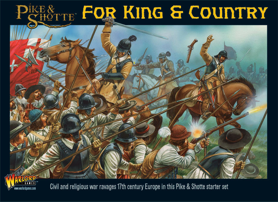 Warlord Games - Pike & Shotte BNIB For King & Country Starter Set