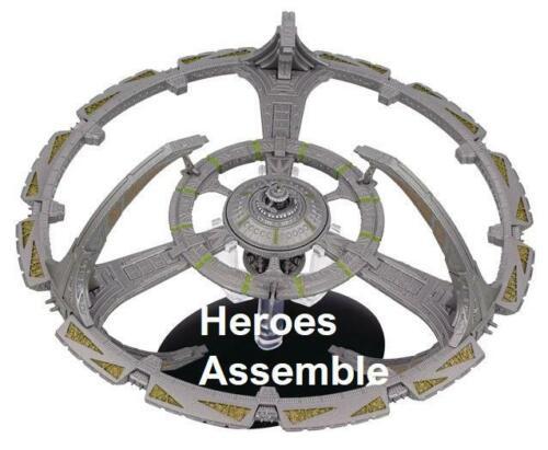 EAGLEMOSS STAR TREK DEEP SPACE 9 NINE SPACE STATION SPECIAL XL MEGA DS9