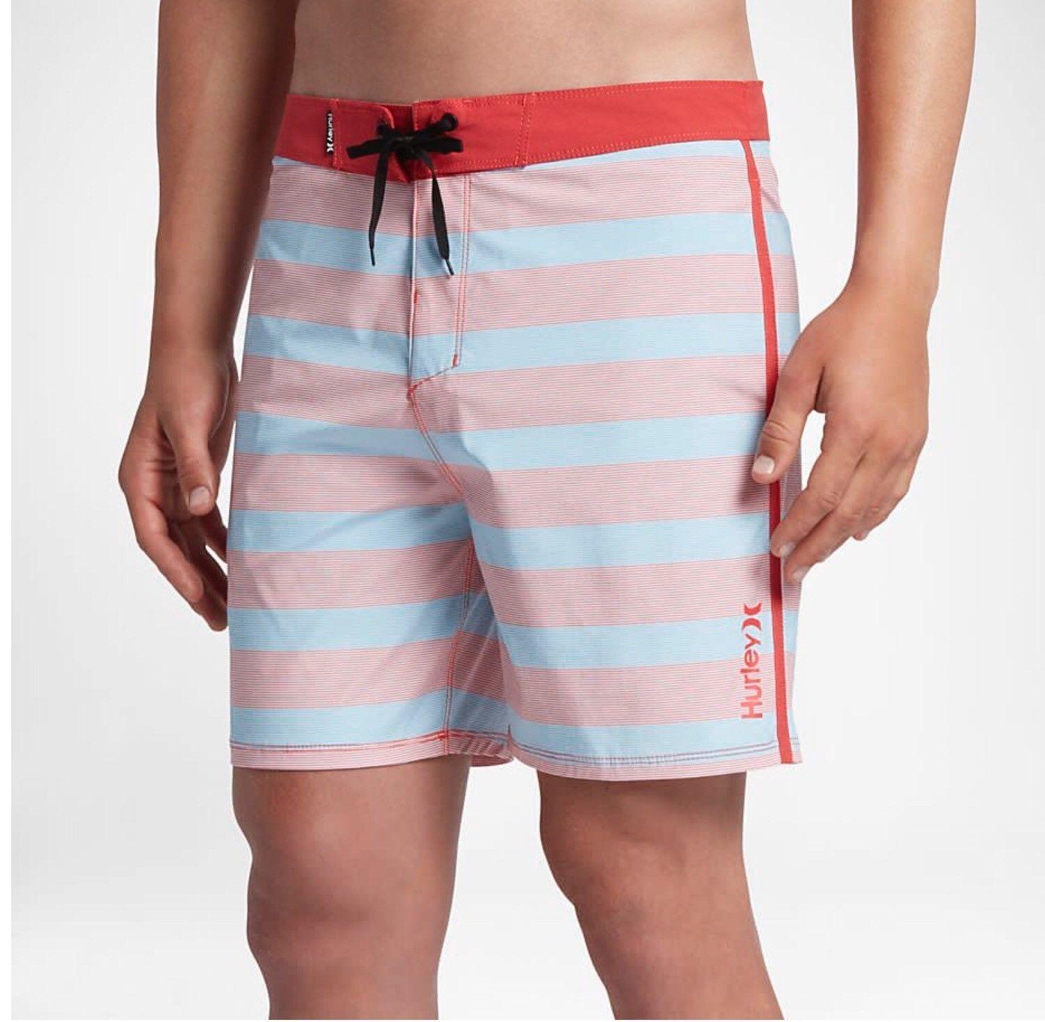 Hurley Men's Size 40 Beachside Windsor 18  Boardshorts MBS0007460 6FX