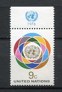 19904A-UNITED-NATIONS-New-York-1976-MNH-def-lab