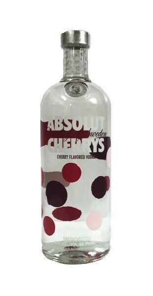 (20,99€/l) Absolut Cherrys Vodka 40% 1,0l Flasche