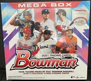 2021 Topps MLB Bowman Baseball Mega Box - In Hand SHIPS TODAY 🚚💨
