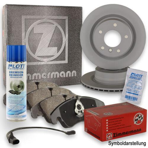 Reiniger T4 ZIMMERMANN Bremsscheiben Ø313mm Beläge VA für VW Sharan 7M