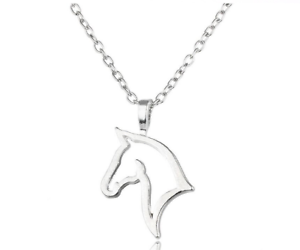 3 Colours NEW Beautiful Horse Necklace UK Seller