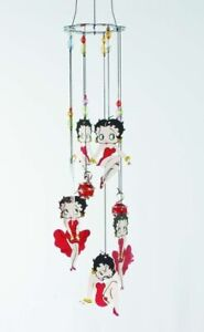 Betty Boop Red Dress (11973) Wind Chime