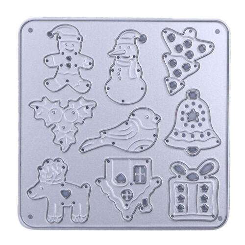Christmas Cutting Dies Stencil For DIY Scrapbook Album Paper Card Craft Gift
