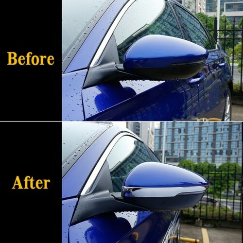 For Honda Accord 2018-2020 Chrome Side Rearview Mirror Moulding Strip Cover Trim