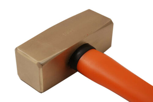 Non-Sparking Spark Proof 1.5kg German Type Sledge Stonning Hammer Be-Cu// Al-Br