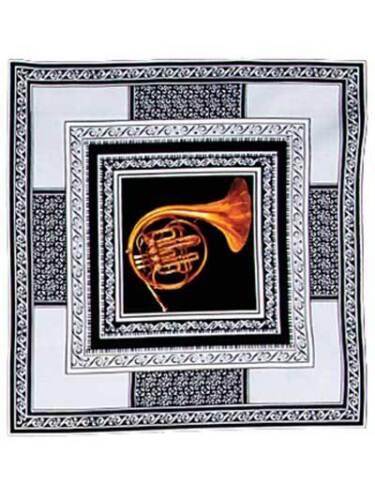 8 Música // Instrumentos Musicales de algodón Colchas de retazos de tela Sinfonía plazas Panel